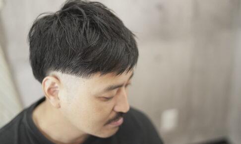 2ブロックヘアスタイル